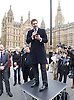 John Rees-Evans <br /> UKIP member and activist and <br /> UKIP Leadership candidate <br /> speaking at a Pro-Brexit Rally on College Green, Westminster, London, Great Britain <br /> 23rd November 2016 <br /> <br /> John Rees-Evans <br /> <br /> <br /> Photograph by Elliott Franks <br /> Image licensed to Elliott Franks Photography Services