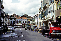 Singapore: A street in Chinatown. Photo '82.