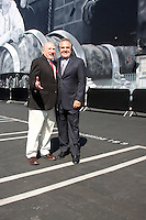 Mel Brooks, Jim Gianopulos<br /> at the Mel Brooks Street Dedication and Young Frankenstein Mural Presentation, 20th Century Fox, Century City, CA 10-23-14<br /> David Edwards/DailyCeleb.com 818-915-4440