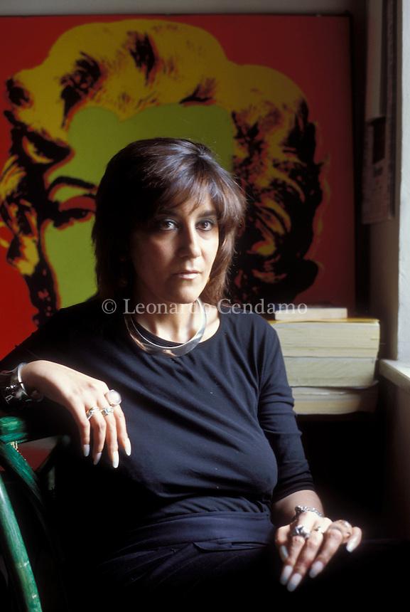 2004: VALENTINA COLOMBANI, WRITER  © Leonardo Cendamo
