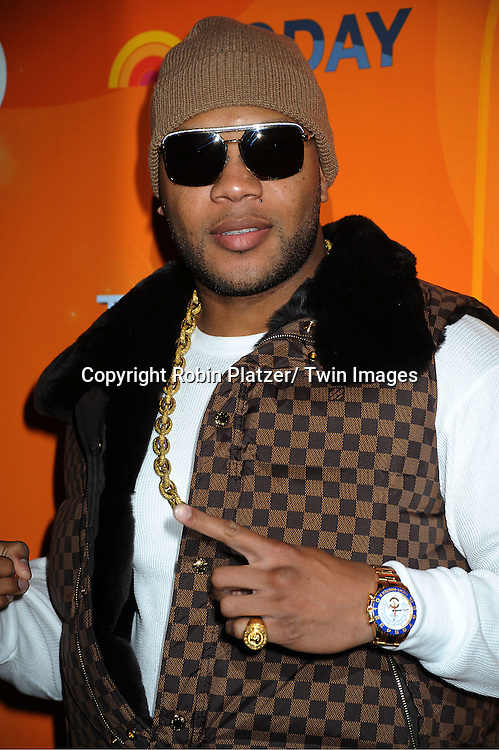 Flo Rida attends The Today Show's 60th Anniversary celebration party on January 12, 2012 at The Edison Ballroom in New York City.