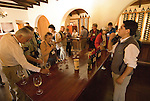 Chile Wine Country: Tasting room at Undurraga Winery, Vina Undurraga, near Santiago..Photo #: ch441-33920.Photo copyright Lee Foster, 510-549-2202, www.fostertravel.com, lee@fostertravel.com.