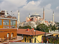 Hagia Sofia from Hotel Side, Sultanahmed Istanbul