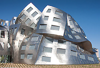 The Lou Rovo building designed by Frank Gehry in Las Vegas, NV. The unique structure houses the Las Vegas branch of the Cleveland Clinic, in Las Vegas, NV.