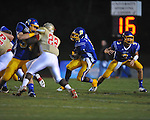 Oxford High's Jarius Barnes (1) runs vs. Lafayette High at Bobby Holcomb Field in Oxford, Miss. on Thursday, August 30, 2012. Oxford High won 19-0.