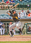 22 March 2015: Pittsburgh Pirates catcher Jacob Stallings in Spring Training action against the Houston Astros at Osceola County Stadium in Kissimmee, Florida. The Astros defeated the Pirates 14-2 in Grapefruit League play. Mandatory Credit: Ed Wolfstein Photo *** RAW (NEF) Image File Available ***