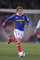 Shingo Hyodo (F Marinos), MARCH 31, 2012 - Football / Soccer : 2012 J.LEAGUE Division 1 between Yokohama F Marinos 0-0 Kashima Antlers at NISSAN Stadium, Kanagawa, Japan. This game was celebrated as a 20th Anniversary Match involving two of the original teams that featured when the J.League launched. Traditionally one of the favourites, Kashima have not scored yet in their first 4 games of the season. (Photo by Atsushi Tomura /AFLO SPORT) [1035]
