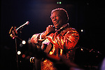 B.B. King performs at his namesake club on Beale Street in early 1990's.