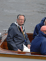 Henley, Great Britain. Henley Royal Regatta, Press officer, Robert TREHERNE JONES, working as a race commentator  at the 2007 Henley Royal Regatta,  Henley Reach, England 06/07/2007  [Mandatory credit Peter Spurrier/ Intersport Images] Rowing Courses, Henley Reach, Henley, ENGLAND . HRR.
