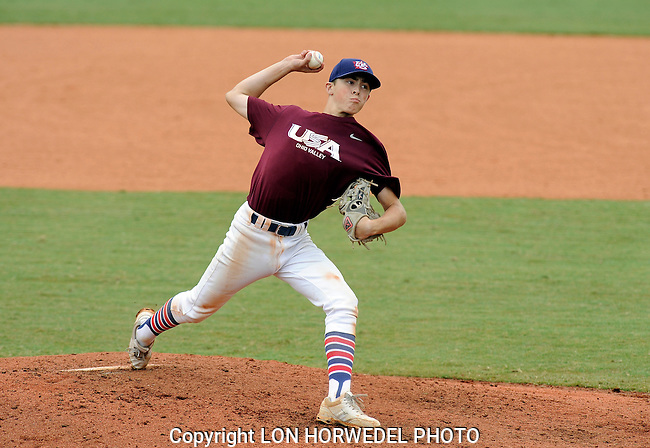 Ohio Valley U14 Baseball team in action at NTIS USA Baseball Tournament in Cary, N.C., August 28-31, 2014.