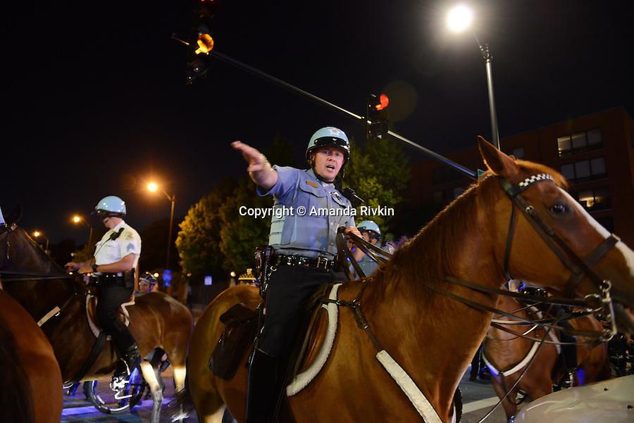 Black Lives Matter Chicago After Alton Sterling, Philando Castile, Dallas (USA)