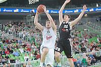 20141019: SLO, Basketball - ABA League 2014/15, KK Union Olimpija vs KK Partizan Beograd