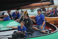 SKUTSJESILEN: SKS2013: SKS kampioenschap 2013, schipper Leeuwarden, Siete Meeter, ©foto Martin de Jong