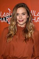 LOS ANGELES, CA - OCTOBER 15: Elizabeth Olsen at Hilarity for Charity's 5th Annual Los Angeles Variety Show: Seth Rogen's Halloween at Hollywood Palladium on October 15, 2016 in Los Angeles, California. Credit: David Edwards/MediaPunch
