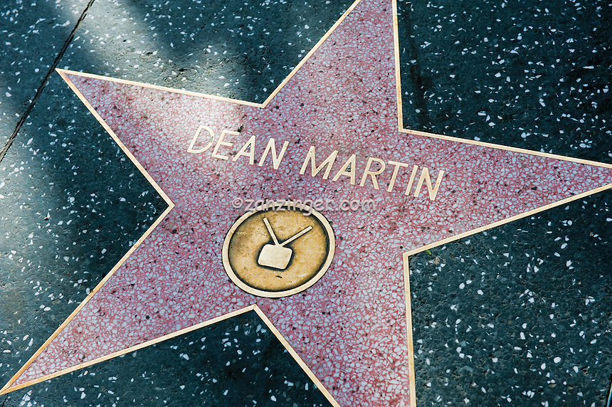 Dean Martin, Hollywood, Boulevard, Singer, TV, Movie Star, Walk of Fame, Hollywood, Ca,