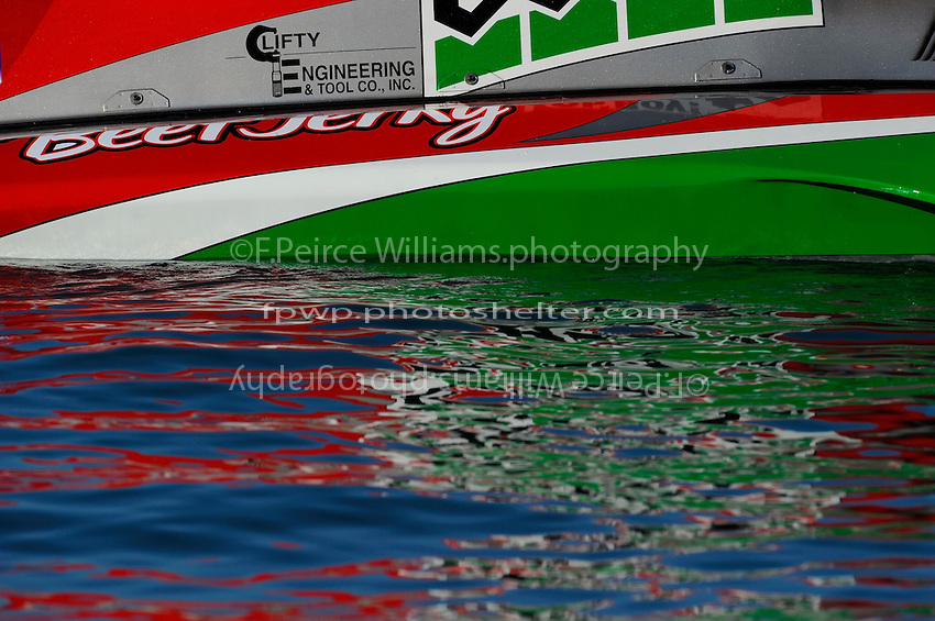 """Reflecting upon the water. U-1 """"Oh Boy! Oberto"""""""