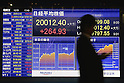 Nikkei closes over 20,000