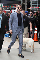 NEW YORK, NY May 23, 2017 Chris Pine at Good Morning America to talk about Warner Bros. Pictures Wonder Woman  in New York May 23, 2017. Credit:RW/MediaPunch