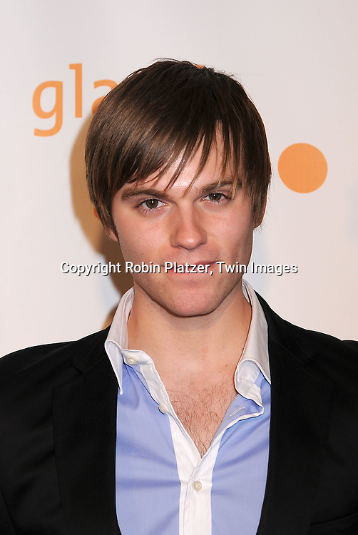Van Hansis posing for photographers at the 19th Annual GLAAD Media Awards on March 17, 2008 at The Marriott Marquis Hotel in New York City. .Robin Platzer, Twin Images