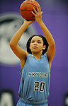 12-11-15, Skyline High School vs Pioneer High School girl's varsity basketball