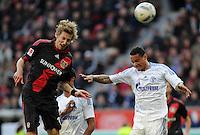 FUSSBALL   1. BUNDESLIGA   SAISON 2011/2012    10. SPIELTAG Bayer 04 Leverkusen - FC Schalke 04                        23.10.2011 Stefan KIESSLING (li, Leverkusen) gegen Jermaine JONES (re, Schalke)
