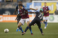 during a match between Aston Villa FC and Philadelphia Union at PPL Park in Chester, Pennsylvania, USA on Wednesday July 18, 2012. (photo - Mat Boyle)