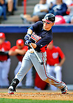 4 March 2011: Atlanta Braves outfielder Nate McLouth in action during a Spring Training game against the Washington Nationals at Space Coast Stadium in Viera, Florida. The Braves defeated the Nationals 6-4 in Grapefruit League action. Mandatory Credit: Ed Wolfstein Photo