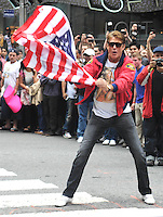 David Hasselhoff - 14th Annual Gumball 3000 Rally NY