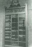 Brown Building April 1975