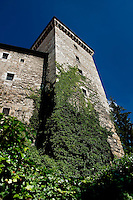 the historic castle in Annecy, capital of the Haute-Savoie department (France, 22/06/2010)