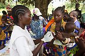 MSF mobile clinic treating people for malaria, Central African Republic