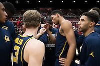 Cal Basketball M vs Stanford, February 17, 2017