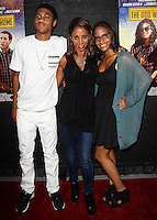 HOLLYWOOD, LOS ANGELES, CA, USA - MAY 30: Rodney Peete Jr, Holly Robinson Peete, Ryan Elizabeth Peete at 'The Odd Way Home' Los Angeles Premiere held at the Arena Cinema Hollywood on May 30, 2014 in Hollywood, California, Los Angeles, California, United States. (Photo by Celebrity Monitor)