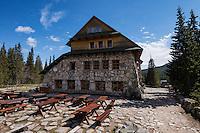 Murowaniec Mountain hut, Tatra mountains, Poland