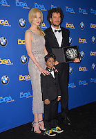 Nicole Kidman &amp; Garth Davis &amp; Sunny Pawar at the 69th Annual Directors Guild of America Awards (DGA Awards) at the Beverly Hilton Hotel, Beverly Hills, USA 4th February  2017<br /> Picture: Paul Smith/Featureflash/SilverHub 0208 004 5359 sales@silverhubmedia.com