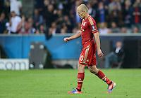FUSSBALL   SAISON 2011/2012   CHAMPIONS LEAGUE FINALE FC Bayern Muenchen - FC Chelsea  19.05.2012 Arjen Robben (FC Bayern Muenchen) ist enttaeuscht