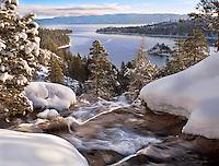 Eagle Falls in Winter