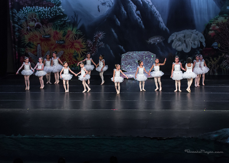 """Saturday Evening Performance of """"A Mermaid's Dream"""", the 2015 Annual Recital by the Cary Ballet Conservatory."""