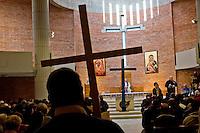 Via Crucis dei detenuti, nel carcere di Rebibbia N.C.