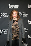 """Actress Alyssa Milano Attends ASPiRE presents the Super 70s Soul Party Hosted Earvin """"Magic"""" Johnson  at Time Warner Cable Studio Highline Stages, NY"""