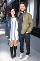 NEW YORK, NY - APRIL 14: Annie J. Howell and Rob Meyer seen after an appearance on AOL's Build Series in New York City on April 14, 2017. Credit: RW/MediaPunch