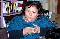 Roma 7  Marzo 2008<br /> Pina Vitale del Comitato di Lotta per la casa, candidata per le elezioni comunali al comune di Roma per la lista Sinistra Critica