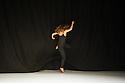 London, UK. 02.10.2014. Choreographer, Margrét Sara Guðjónsdóttir, presents VARIATIONS ON CLOSER, as part of Sadler's Wells Northern Light Season, in the Lilian Baylis Studio. Picture shows: Angela Schubot. Photograph © Jane Hobson.