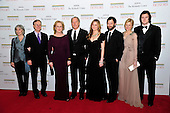 (Left top right) Maeve Kinkaid III, Harry Streep, Meryl Streep, Don Gummer, Grace Gummer, Henry Gummer, Mamie Gummer, and Ben Walker Davis arrive for the formal Artist's Dinner honoring the recipients of the 2011 Kennedy Center Honors hosted by United States Secretary of State Hillary Rodham Clinton at the U.S. Department of State in Washington, D.C. on Saturday, December 3, 2011. The 2011 honorees are actress Meryl Streep, singer Neil Diamond, actress Barbara Cook, musician Yo-Yo Ma, and musician Sonny Rollins..Credit: Ron Sachs / CNP