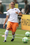 22 August 2009: Sky Blue's Meghan Schnur. Sky Blue FC defeated the Los Angeles Sol 1-0 at the Home Depot Center in Carson, California in the inaugural WPS Championship game.