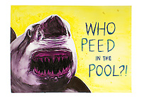 WHO PEED IN THE POOL?