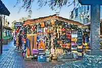 Olvera  Street Street Vendor Los Angeles CA