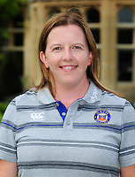 Helen Shand poses for a portrait at a Bath Rugby photocall. Bath Rugby Media Day on August 24, 2016 at Farleigh House in Bath, England. Photo by: Patrick Khachfe / Onside Images