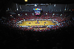 Fans wear red t-shirts at the Ole Miss vs. Kentucky basketball game at the C.M. &quot;Tad&quot; Smith Coliseum in Oxford, Miss. on Tuesday, February 1, 2011. Ole Miss won 71-69.