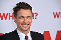 Actor James Franco at the world premiere of &quot;Why Him?&quot; at the Regency Bruin Theatre, Westwood. December 17, 2016<br /> Picture: Paul Smith/Featureflash/SilverHub 0208 004 5359/ 07711 972644 Editors@silverhubmedia.com